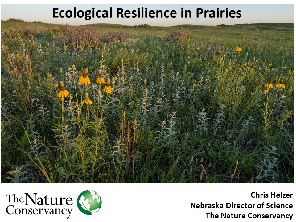 Ecological Resilience in Prairies